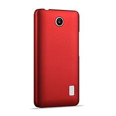 Housse Plastique Rigide Mat pour Huawei Ascend Y635 Dual SIM Rouge