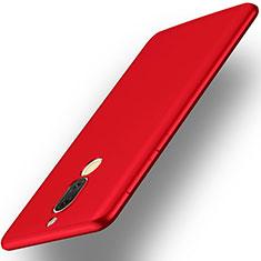 Housse Plastique Rigide Mat pour Huawei G10 Rouge