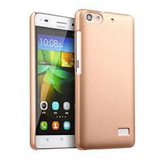 Housse Plastique Rigide Mat pour Huawei Honor 4C Or
