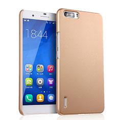 Housse Plastique Rigide Mat pour Huawei Honor 6 Plus Or