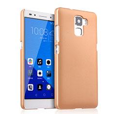Housse Plastique Rigide Mat pour Huawei Honor 7 Dual SIM Or