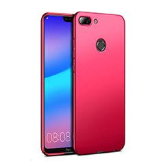 Housse Plastique Rigide Mat pour Huawei Honor 9i Rouge