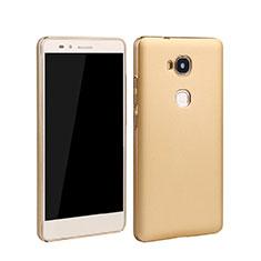 Housse Plastique Rigide Mat pour Huawei Honor X5 Or