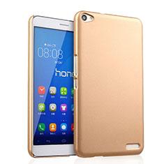 Housse Plastique Rigide Mat pour Huawei MediaPad X2 Or
