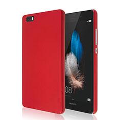 Housse Plastique Rigide Mat pour Huawei P8 Lite Rouge