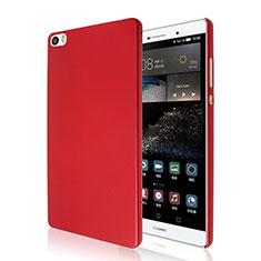 Housse Plastique Rigide Mat pour Huawei P8 Max Rouge