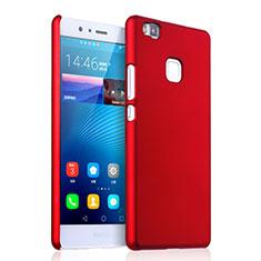 Housse Plastique Rigide Mat pour Huawei P9 Lite Rouge