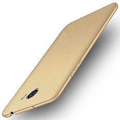 Housse Plastique Rigide Mat pour Huawei Y5 II Y5 2 Or