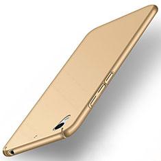 Housse Plastique Rigide Mat pour Huawei Y6 II 5.5 Or