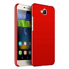 Housse Plastique Rigide Mat pour Huawei Y6 Pro Rouge