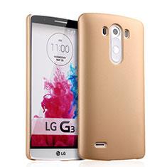 Housse Plastique Rigide Mat pour LG G3 Or
