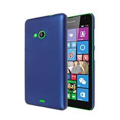 Housse Plastique Rigide Mat pour Microsoft Lumia 535 Bleu
