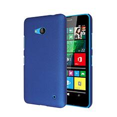Housse Plastique Rigide Mat pour Microsoft Lumia 640 Bleu