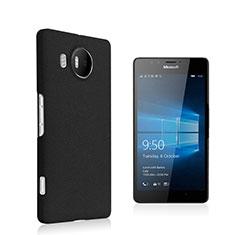 Housse Plastique Rigide Mat pour Microsoft Lumia 950 XL Noir