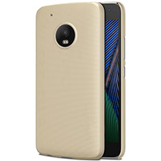 Housse Plastique Rigide Mat pour Motorola Moto G5 Plus Or
