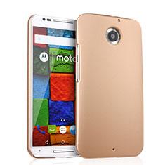 Housse Plastique Rigide Mat pour Motorola Moto X (2nd Gen) Or