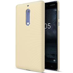 Housse Plastique Rigide Mat pour Nokia 5 Or