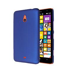 Housse Plastique Rigide Mat pour Nokia Lumia 1320 Bleu