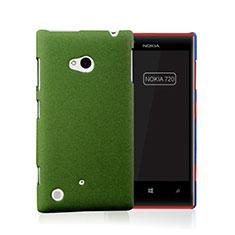 Housse Plastique Rigide Mat pour Nokia Lumia 720 Vert