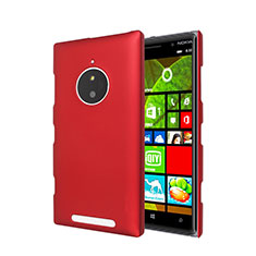 Housse Plastique Rigide Mat pour Nokia Lumia 830 Rouge