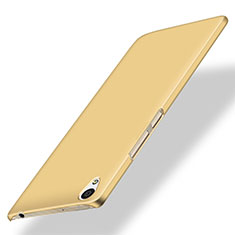 Housse Plastique Rigide Mat pour OnePlus X Or