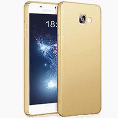 Housse Plastique Rigide Mat pour Samsung Galaxy A5 (2017) SM-A520F Or