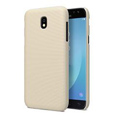 Housse Plastique Rigide Mat pour Samsung Galaxy J5 Pro (2017) J530Y Or
