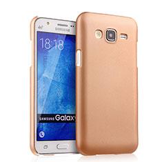 Housse Plastique Rigide Mat pour Samsung Galaxy J5 SM-J500F Or