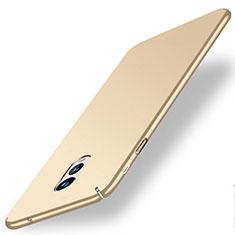 Housse Plastique Rigide Mat pour Samsung Galaxy J7 Plus Or