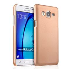 Housse Plastique Rigide Mat pour Samsung Galaxy On5 G550FY Or