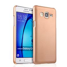 Housse Plastique Rigide Mat pour Samsung Galaxy On7 Pro Or
