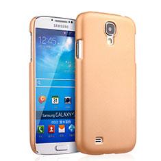 Housse Plastique Rigide Mat pour Samsung Galaxy S4 i9500 i9505 Or
