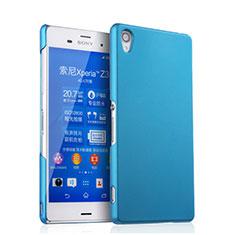 Housse Plastique Rigide Mat pour Sony Xperia Z3 Bleu Ciel