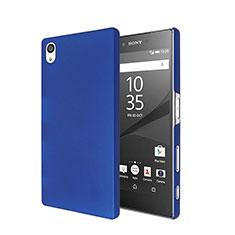 Housse Plastique Rigide Mat pour Sony Xperia Z5 Bleu