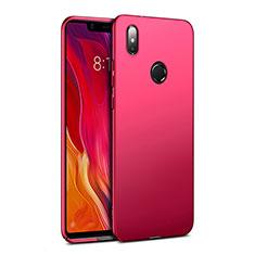 Housse Plastique Rigide Mat pour Xiaomi Mi 8 SE Rouge