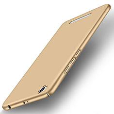 Housse Plastique Rigide Mat pour Xiaomi Redmi 3 Or