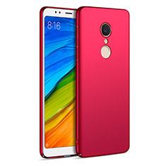 Housse Plastique Rigide Mat pour Xiaomi Redmi 5 Rouge