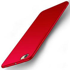 Housse Plastique Rigide Mat pour Xiaomi Redmi Note 5A Standard Edition Rouge