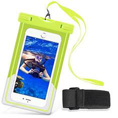 Housse Pochette Etanche Waterproof Universel W03 pour Huawei Enjoy 9 Plus Vert
