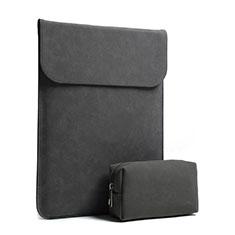 Housse Pochette Velour Tissu pour Apple MacBook Pro 15 pouces Retina Noir