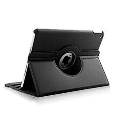 Housse Portefeuille Cuir Rotatif pour Apple iPad Air 2 Noir