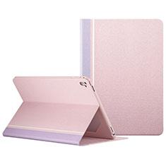 Housse Portefeuille Livre Cuir L03 pour Apple iPad Pro 9.7 Rose