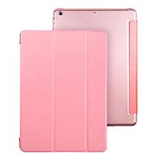 Housse Portefeuille Livre Cuir pour Apple iPad Air Rose