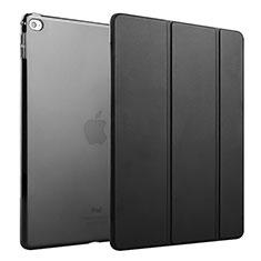 Housse Portefeuille Livre Cuir pour Apple iPad Mini 4 Noir