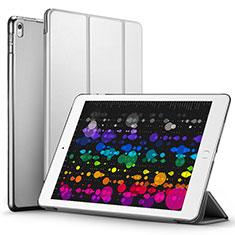 Housse Portefeuille Livre Cuir pour Apple iPad Pro 10.5 Gris