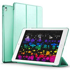 Housse Portefeuille Livre Cuir pour Apple iPad Pro 10.5 Vert