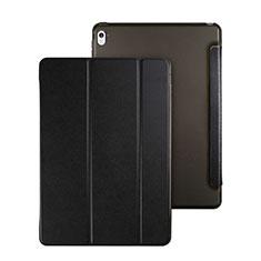 Housse Portefeuille Livre Cuir pour Apple iPad Pro 9.7 Noir