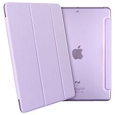 Housse Portefeuille Livre Cuir pour Apple New iPad 9.7 (2017) Violet