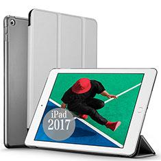 Housse Portefeuille Livre Cuir pour Apple New iPad Pro 9.7 (2017) Argent