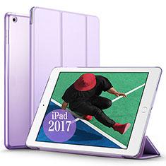 Housse Portefeuille Livre Cuir pour Apple New iPad Pro 9.7 (2017) Violet